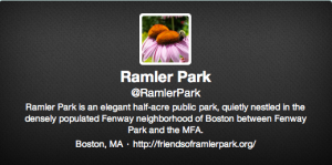 Friends of Ramler Park on Twitter