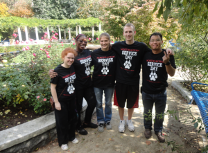 NU students volunteer at Ramler Park