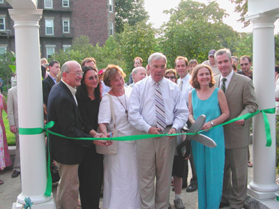 Mayor Menino officially opens Ramler Park August 2004